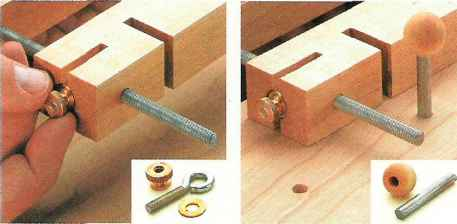 Eye Bolt With Built Coupling Nut